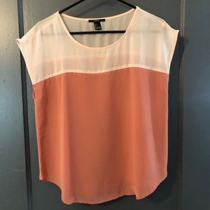 Forever 21 • color block boxy top